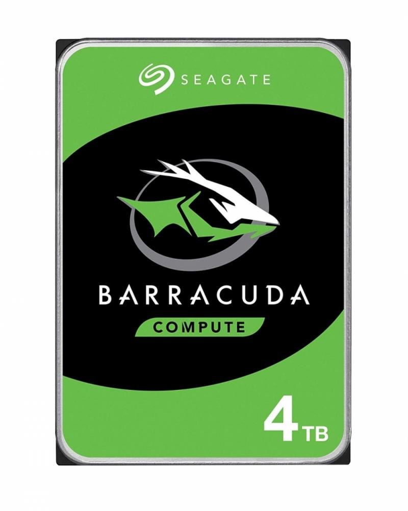 Cyberpuerta, Disco Duro Interno Seagate Barracuda 3.5'', 4TB, SATA III, 6 Gbit/s, 5400RPM, 256MB Cache