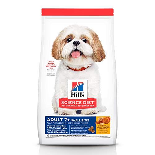 Amazon, Hill's Science Diet, Alimento para Perro Adulto 7+ años Small Bites, Seco (bulto) 6.9kg