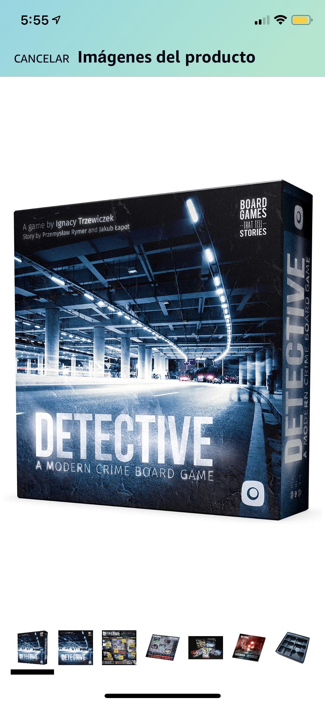 Amazon, Juego de Mesa Detective