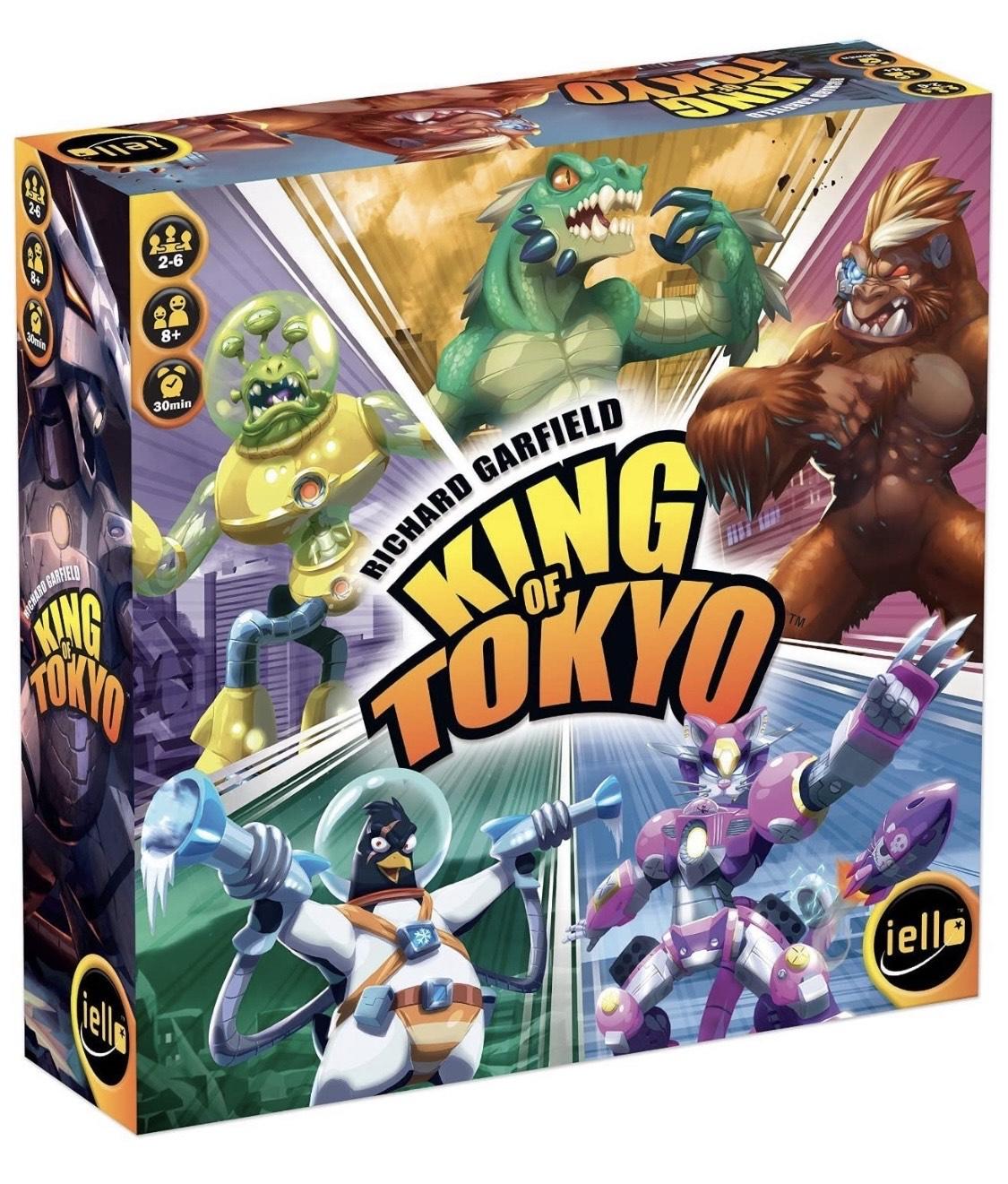 Amazon, Juego de Mesa: King of Tokio