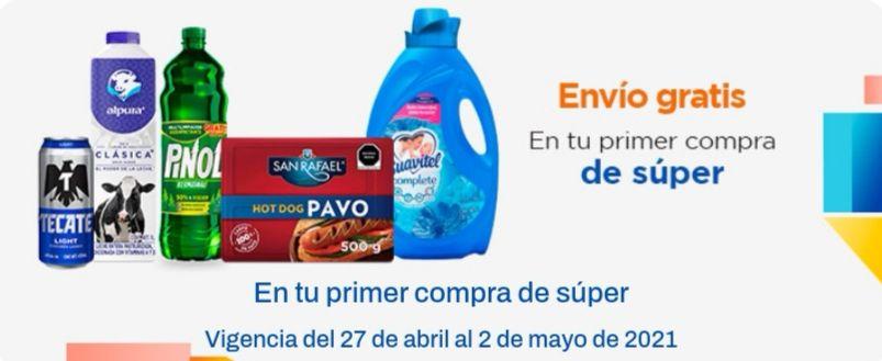 Chedraui: ENVÍO GRATIS en tu primera compra en TODO EL SUPER