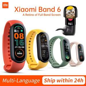 AliExpress: XIAOMI MI BAND 6 (CN VERSION)
