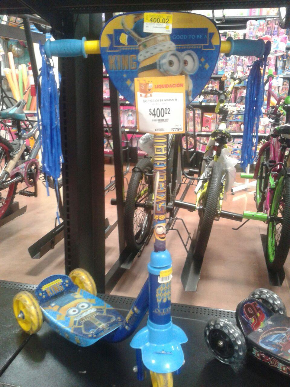 Walmart: patin / scooter de Minions a $400.02
