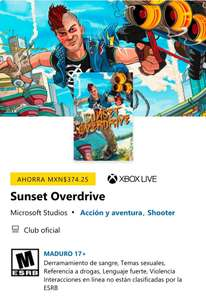 Xbox: Sunset Overdrive (Versión para Xbox One y Series S/X)