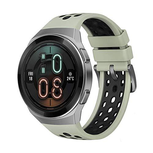 """Amazon: HUAWEI Watch GT 2e - Reloj Inteligente ultra-slim, Pantalla de 1.39"""" AMOLED, Batería hasta por 2 semanas, Bluetooth, Verde"""