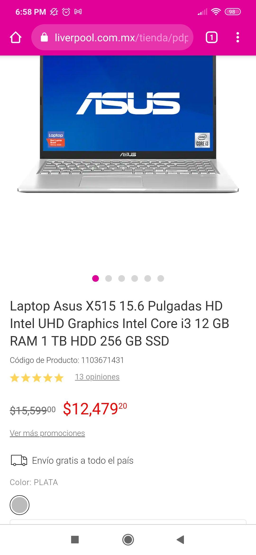 Liverpool: Laptop ASUS