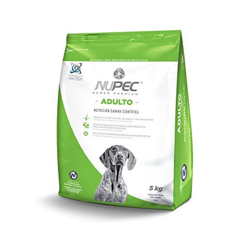 Amazon: Varios alimentos NUPEC - Croquetas para Perros, Adulto, Sabor a Carne, 5 kg (Empaque puede variar)