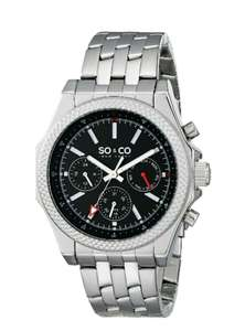 Amazon: Reloj So & Co Monticello 5003.1 a $376