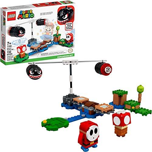 Amazon: LEGO Kit de construcción Super Mario™ Set de Expansión: Avalancha de Bill Balazos (132 Piezas)