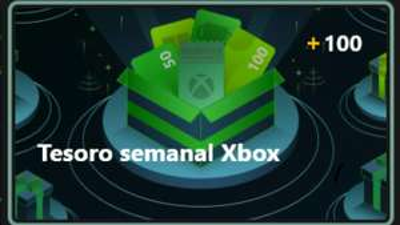 Comió casa sema, ALERTA Tesoro Semanal XBOX +100 PUNTOS Microsoft Rewards