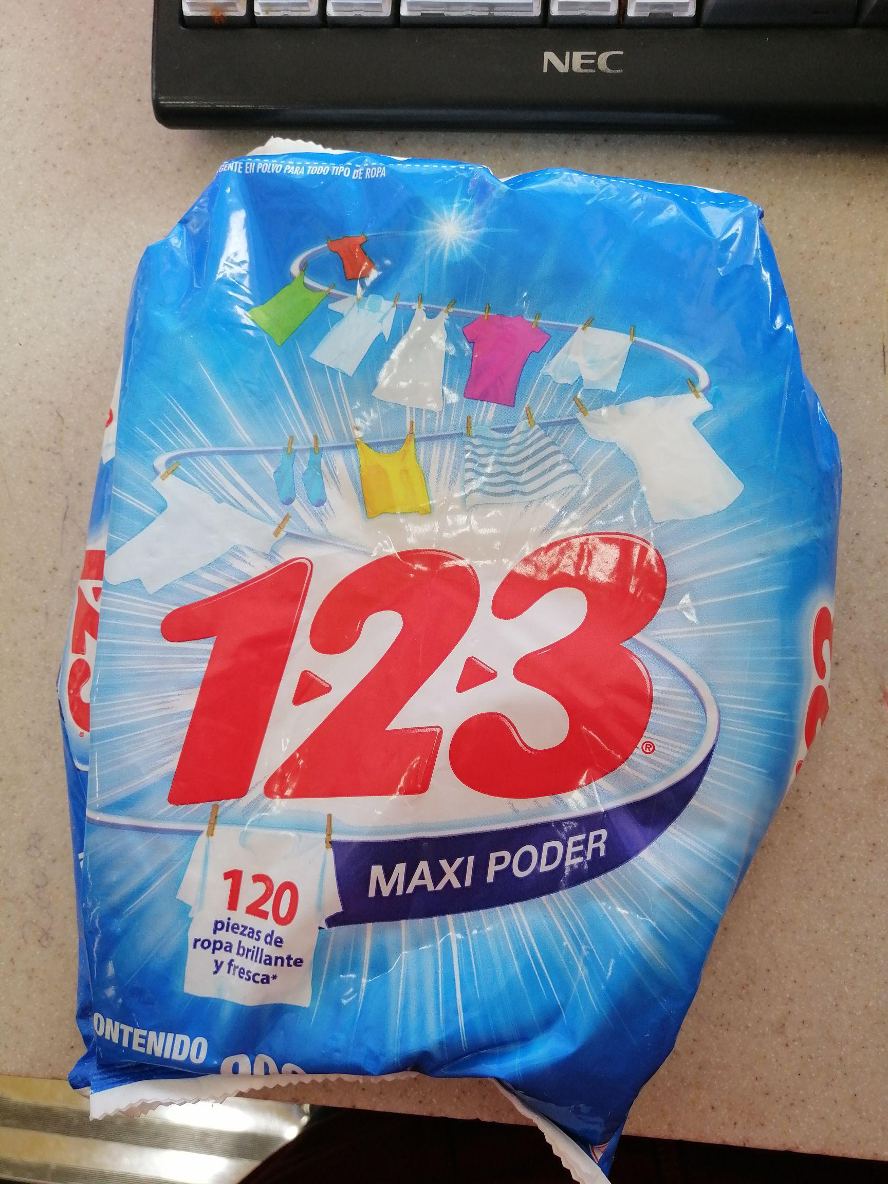 Jabón 123 rebaja en oxxo