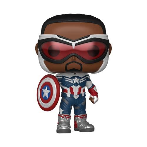 Amazon: Funko Pop! Marvel: Falcon and The Winter Soldier - Captain America (Sam Wilson)