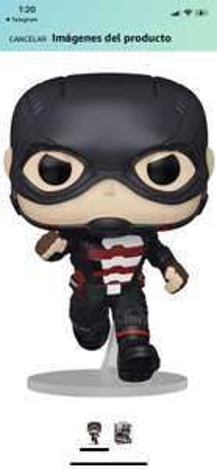 Amazon: Preventa: Funko Pop! Marvel: Falcon and The Winter Soldier - U.S. Agent