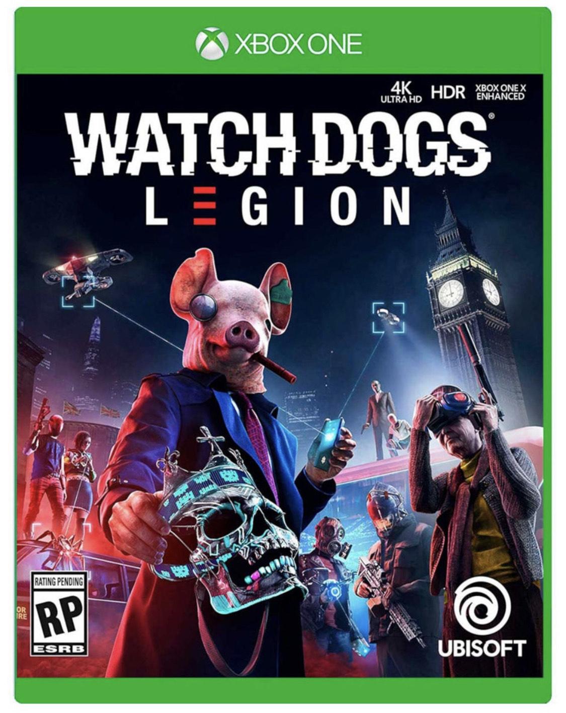 Liverpool: Watch Dogs Legión Edición Especial Para Xbox One Juego Fisico
