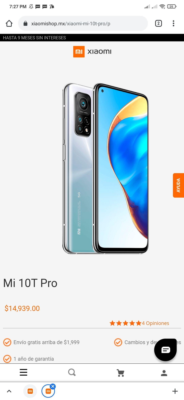 Xiaomishop: Mi 10T Pro y 50% de descuento en toda la tienda con cupón MFF50