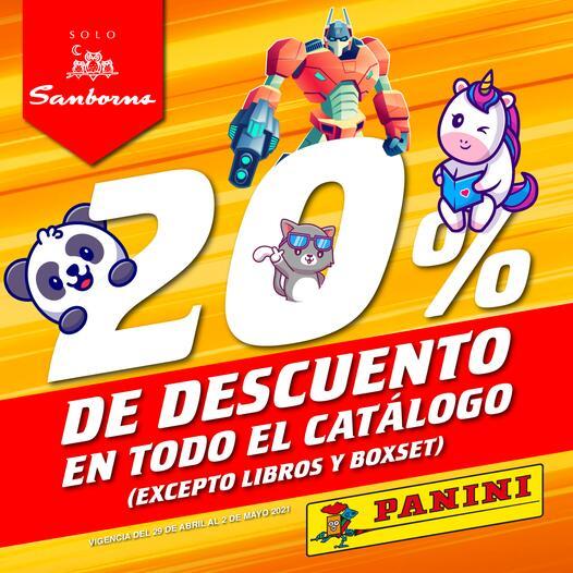 PANINI OFERTA SANBORNS -20%