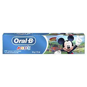 Amazon: Oral B Pasta Dental Kids Mickey 37 Ml, Pack of 1 (PRIME)