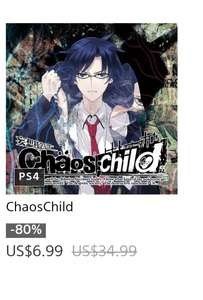 PlayStation Store: Chaos child digital ps4