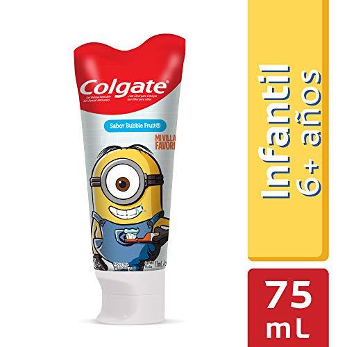 Amazon: Colgate Gel Dental Smiles Minions para Niños, Sabor Bubble Fruit, 75 ml