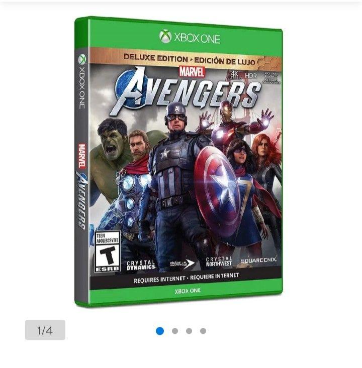 Walmart: Avengers deluxe edición Xbox one y PS4