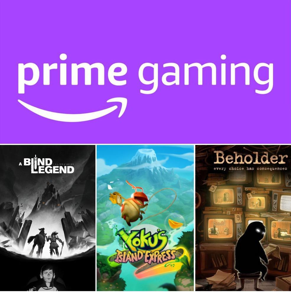 Prime Gaming: Juegos GRATIS de Mayo (para todos los miembros de Amazon Prime)