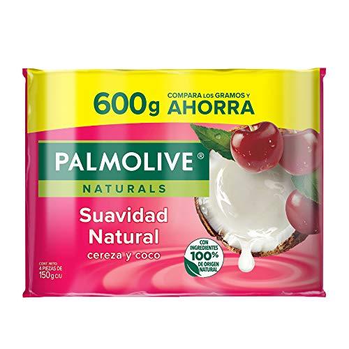 Amazon: Jabón corporal en barra Cereza y Leche de Coco 4x150gr