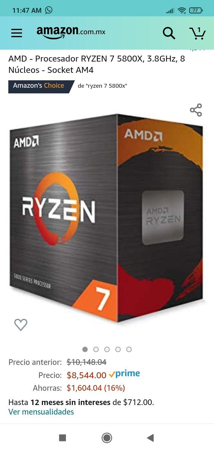 Amazon: Ryzen 5800x