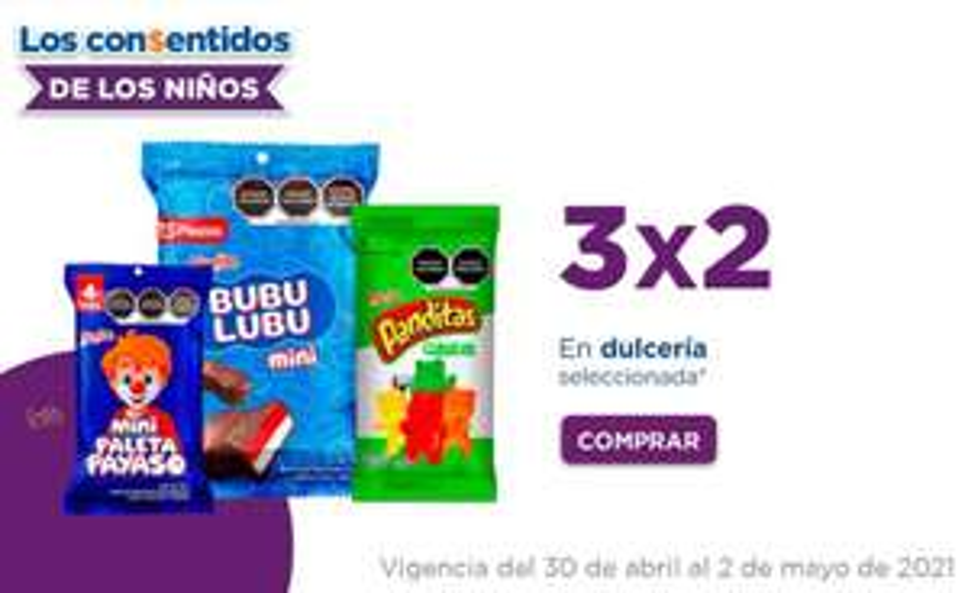 Chedraui: 3 x 2 en dulcería seleccionada