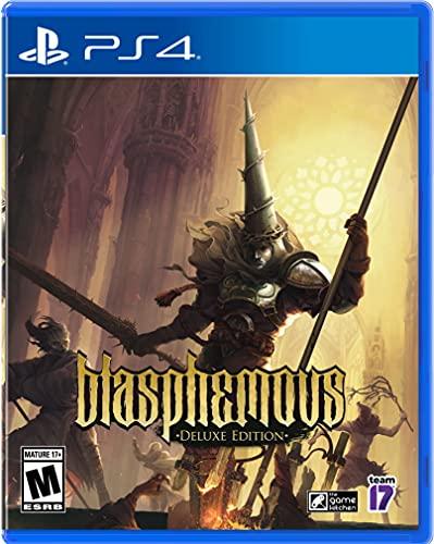 Amazon US: Preventa Blasphemous para PS4 juego físico $805 ya con envío