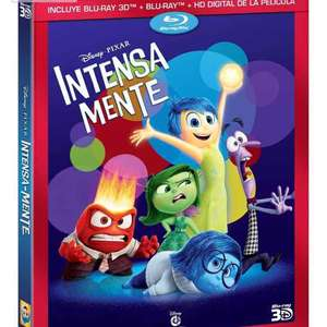 Amazon: pelicula Blu-Ray Intensamente trihibrido