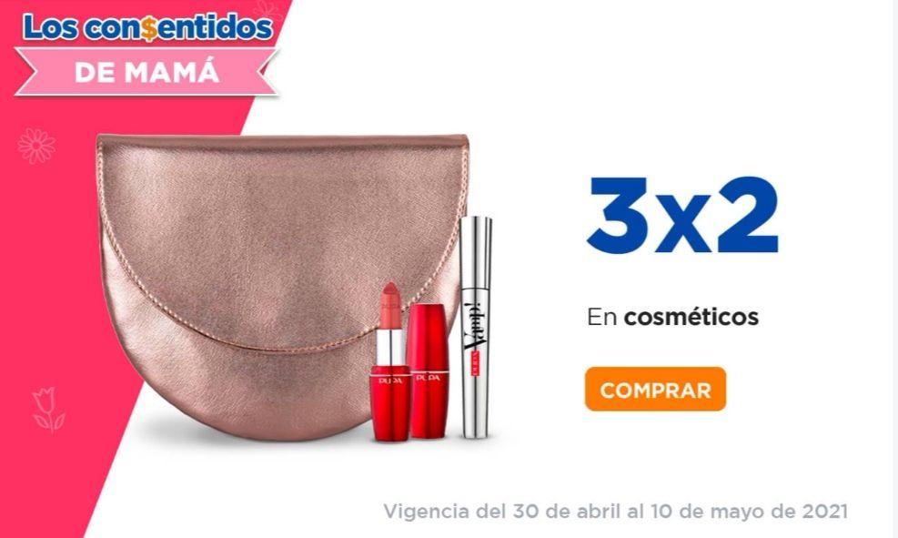 Chedraui: 3 x 2 en todos los cosméticos