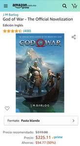 Amazon: God of war The Official Novelization