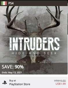 PlayStation Store: Intruders: Hide & Seek PS4 - PSVR
