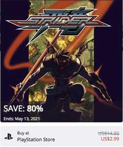 PlayStation Store: STRIDER - PS4 -