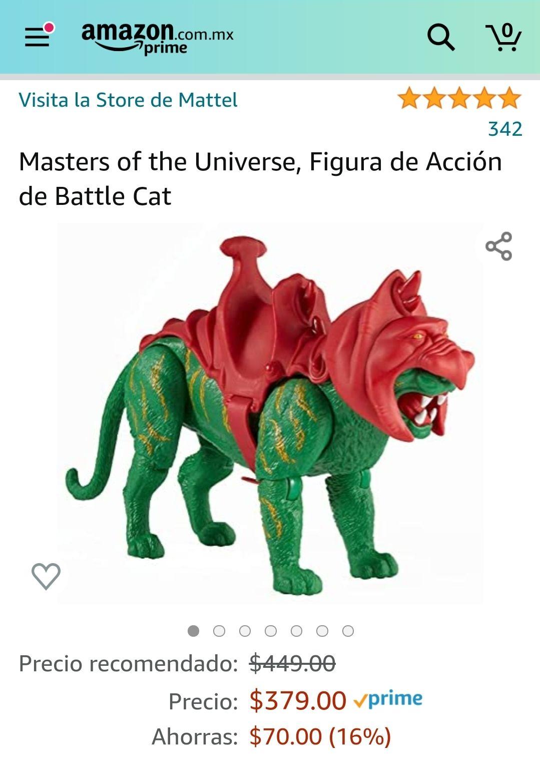 Amazon: Masters of the Universe, Figura de Acción de Battle Cat