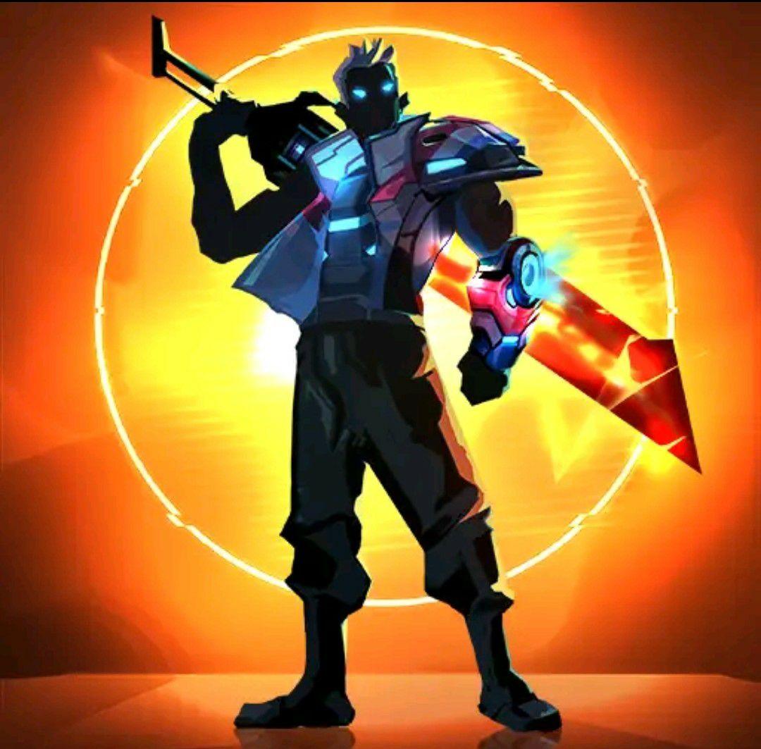 Google Play Cyber Fighters: League of Cyberpunk Stickman 2077