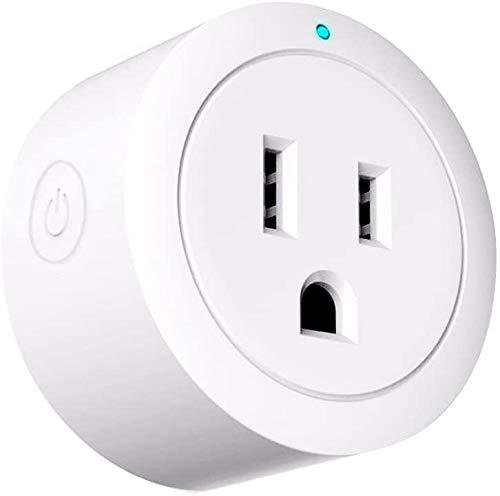 Amazon ANNA TOSANI Enchufe Inteligente Wifi Mini Smart Plug