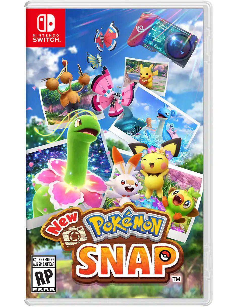 Liverpool: New Pokémon Snap en físico switch