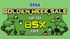 Steam SEGA GOLDEN WEEK SALE