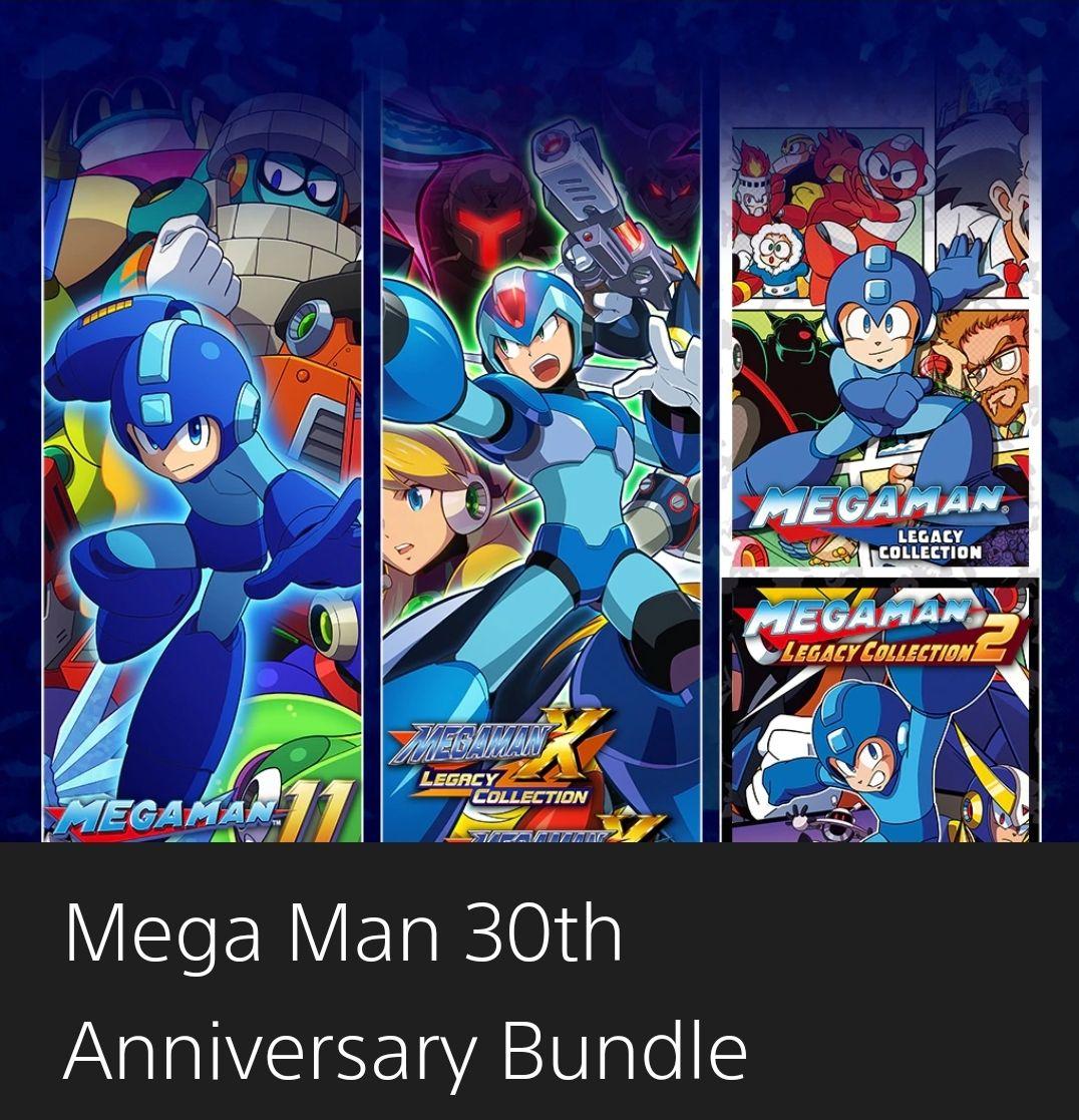 PSN: Mega Man 30th Anniversary Bundle