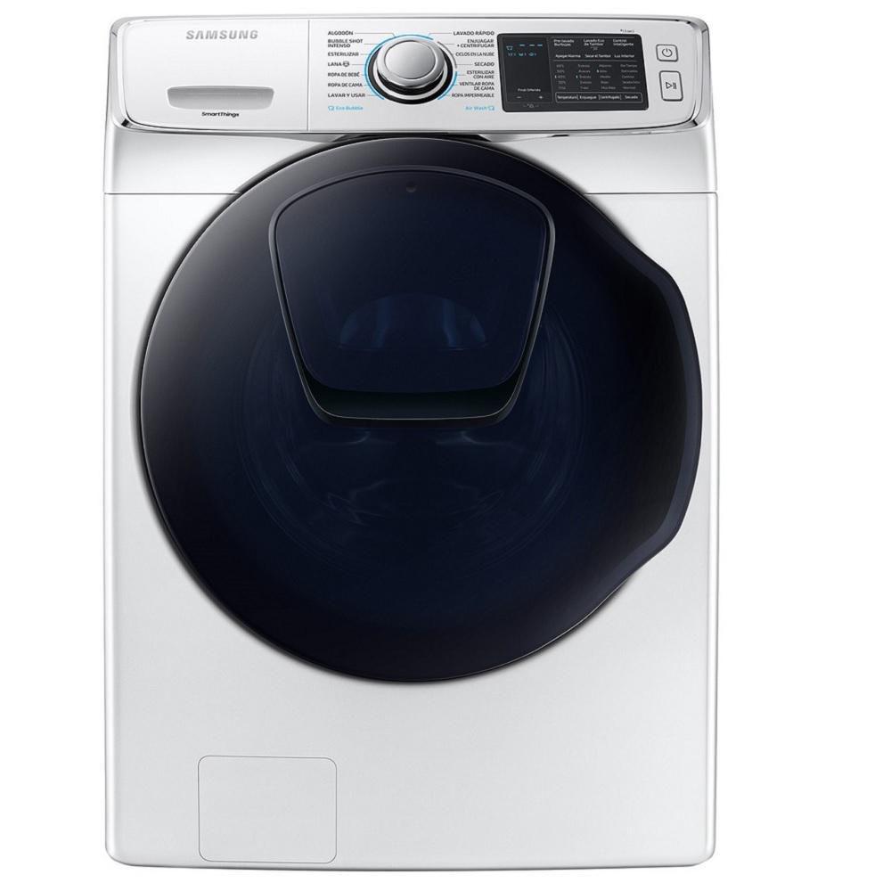 Elektra: Lavasecadora Samsung WD18N7510KW/AX 18Kg/10Kg Blanca