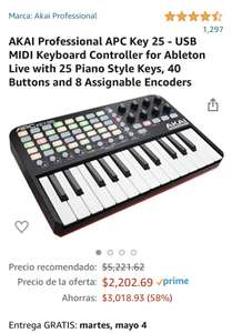 Amazon, AKAI Professional APC Key 25
