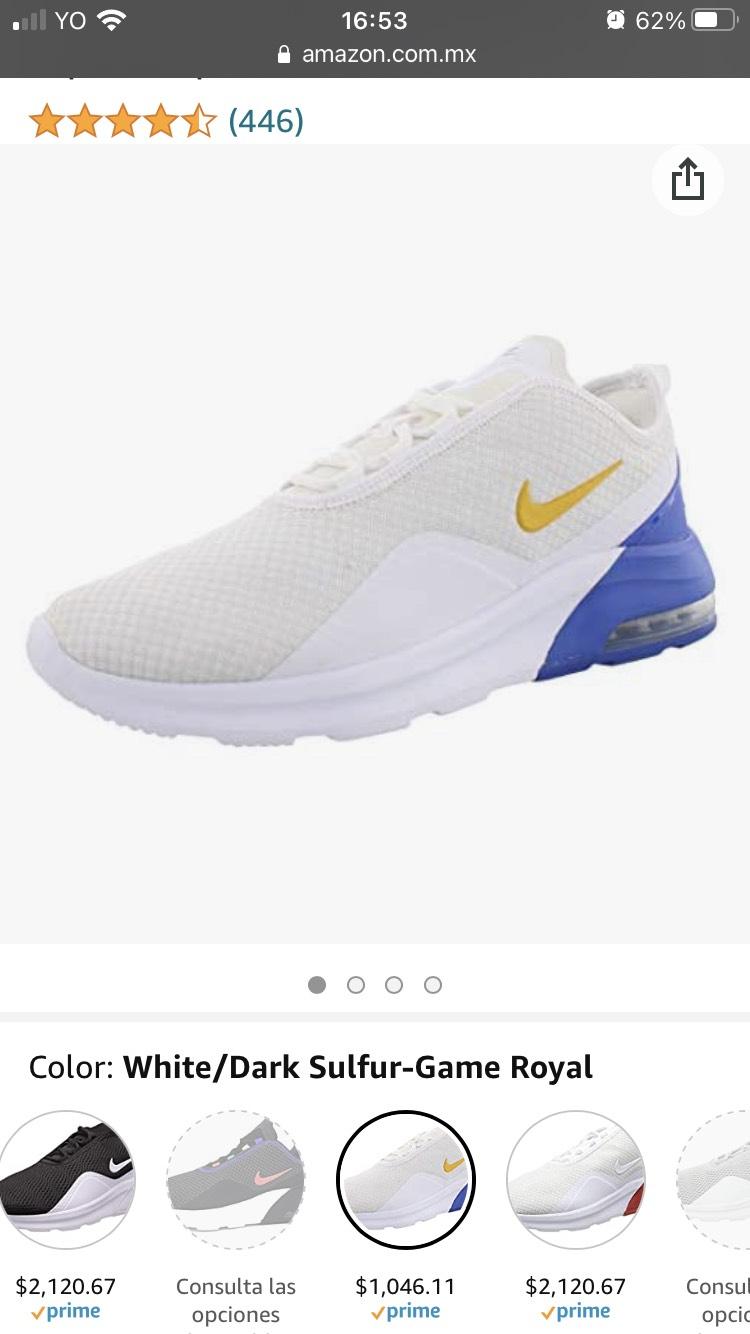 Amazon: Tenis Nike Air Max Motion 29.5cm