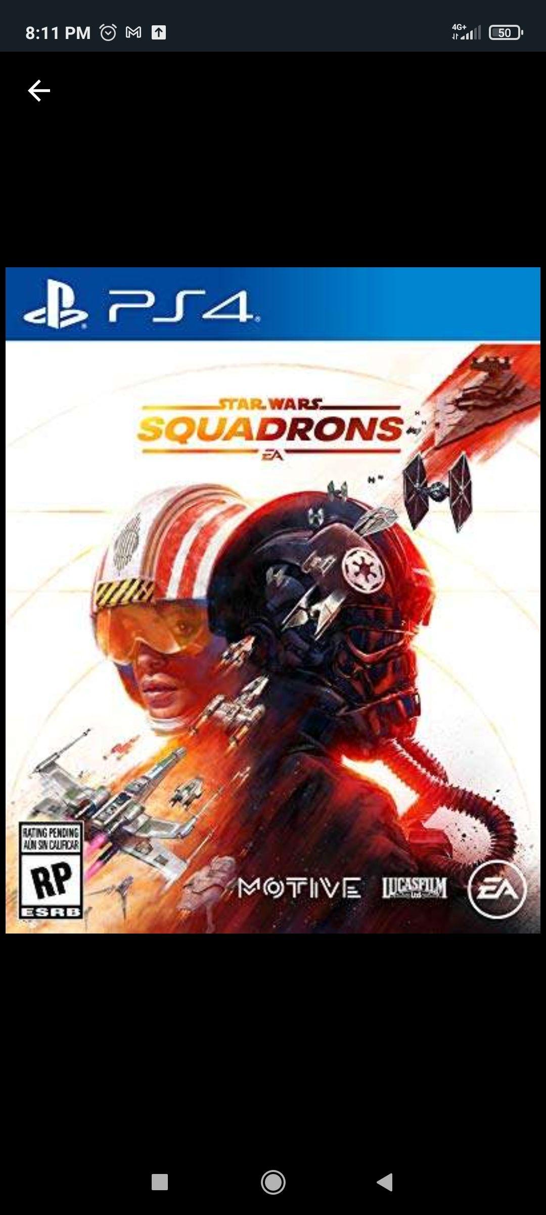 Amazon: SW Squadrons PS4