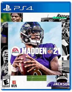 Amazon: Madden 21 - PlayStation 4 - Standard Edition