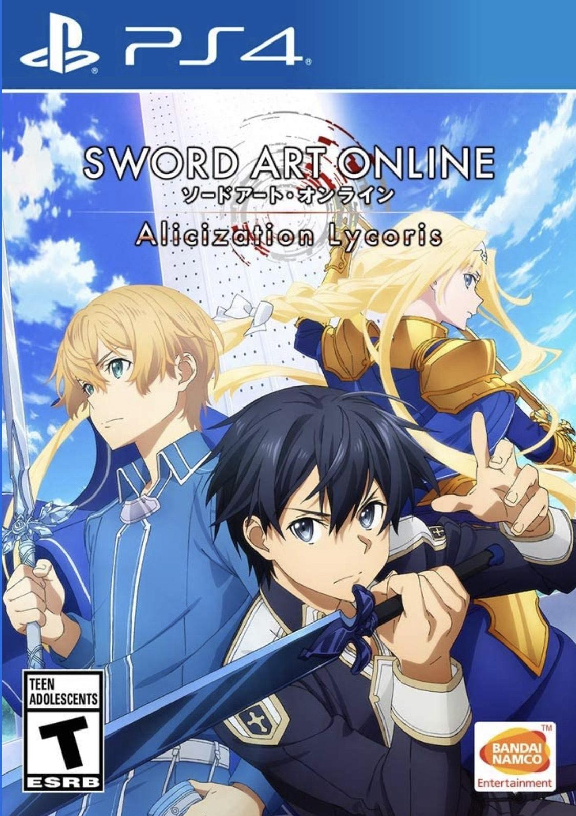 Amazon: Sword Art Online Alicization Play Station 4