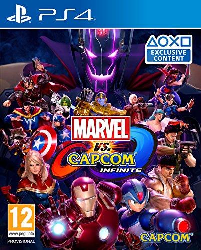 Amazon: Marvel Vs Capcom ¨Donde no sale Wolverine¨ Infinite ps4