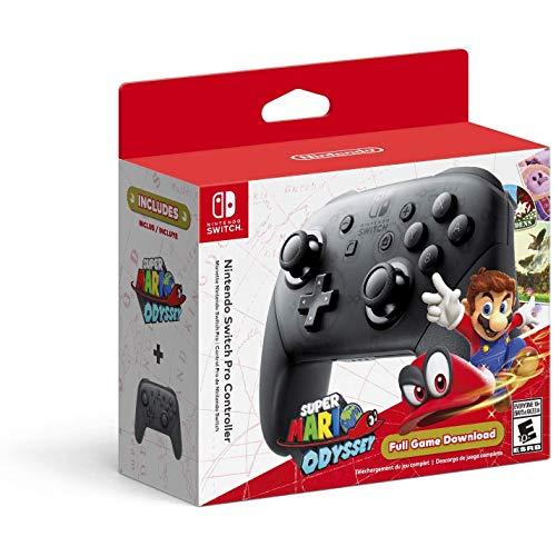 Amazon: Control Pro + Mario odyssey para Nintendo Switch