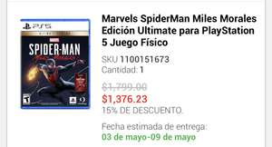 Liverpool: Spiderman PS5 ultimate edition