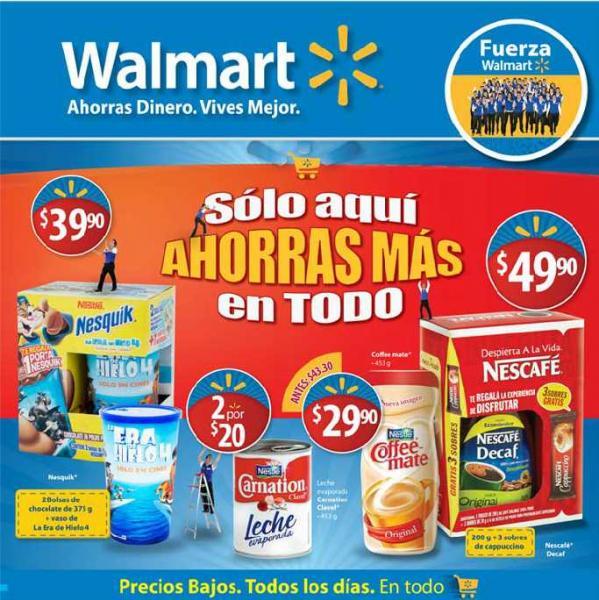 Folleto Walmart junio 21: descuentos en pantallas, cereales, películas y más